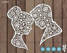 Bride Groom facial profiles Svg, Heads Svg, Mr and Mrs Svg, Couple Svg, People Svg, Floral Clipart, Wedding Cut File, Cricut Silhouette, Vector Printable file, Instant download For personal and commercial use. Original design in SVG, PNG, PDF, EPS formats.