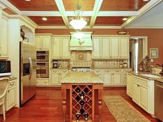 gorgeous, don't care for white cabinets, but this a beautiful color combo