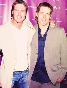 Nice pic of Michael Shanks and Ben Browder