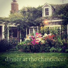 ~~ chanticleer garden ... Love a dinner out here ~~