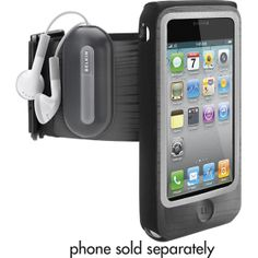 The best armband for the iPhone - I love the holder for your actual head phones, so they don't flop around annoyingly as you run!