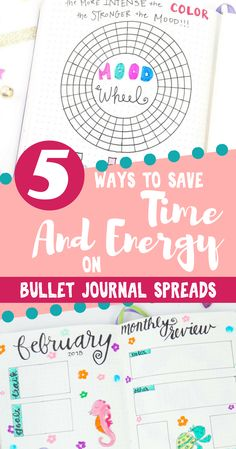 Save time and energy with these awesome Bullet Journal ideas that  make life easier.