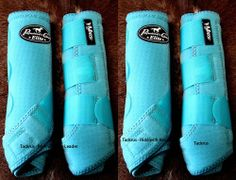 Professional's Choice SMB VenTech ELITE 4 PACK Medium Turquoise Prof Horse Boots
