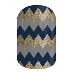 Charisma | Jamberry  This elegant color scheme takes a playful design and makes us love chevrons all over again.