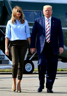 FLOTUS #Melania Trump on August 4, 2019.