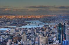 Osaka - Capital of Osaka province - Kansai area - Honshu island - Japan