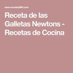 Receta de las Galletas Newtons - Recetas de Cocina