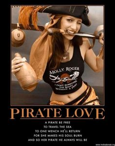 Sexy Pirates, costume inspiration for international talk like a pirate day Pirate Day, Pirate Woman, Pirate Life, Pirate Quotes, Ecu Pirates, Sea Of Thieves, Pirate Treasure, Jolly Roger, Pirates Of The Caribbean