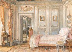 La Chambre de Lady Mendl', William Rankin, circa 1920's.