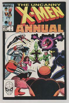 Uncanny X-Men V1 Annual 7 NM. 1983.  Marvel by RubbersuitStudios #xmen #comicbooks