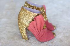 Glittered boots from Miu Miu F/W 2011.