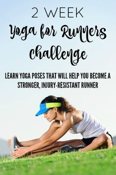 Free challenge from a yoga teacher + running coach! Every day for two weeks, you'll get an email sent to you with a link to a short video showing you a different yoga pose that's great for runners. Learn more about yoga and how it can make you a better runner!