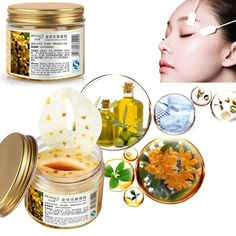 Eye Mask BIOAQUA 80Pcs Women Collagen Osmanthus Anti-âge supprimer les cernes