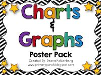 Primary Punch: Charts & Graphs {FREEBIE}