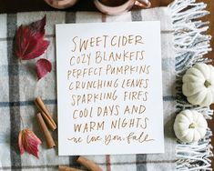 We Love You Fall print by Lindsay Letters