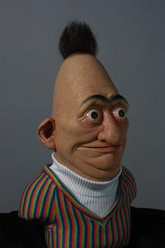 Real life Bert from Sesame Street #muppets