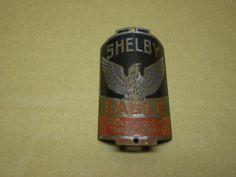 RARE! Vintage Antique Prewar Shelby Eagle Bicycle Head Badge | Collectibles, Transportation, Bicycles | eBay!