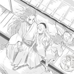 Fire Emblem: If/Fates - Ryoma, Kamui, Shinonome and Kanna