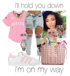 """"""""""" by makaelahangelah on Polyvore featuring adidas, MCM and Rolex"""