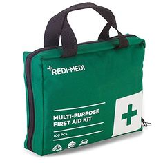 RediMedi 100Piece First Aid Kit with NylonCanvas Bag Green * Be sure to check out this awesome product.