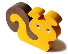 Wooden Puzzle Snail. Wooden toys. Wooden animal puzzle