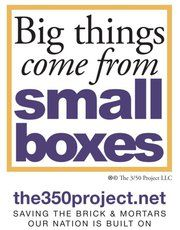350 project - sticking up for small business