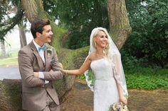 Bride and groom from a Wedding at the Royal Botanic Garden in Edinburgh | http://www.kimberleybrand.com/