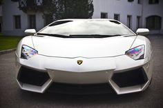 A Lamborghini Aventador. FAST.