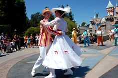 I love Marry Poppins! And disneyland.