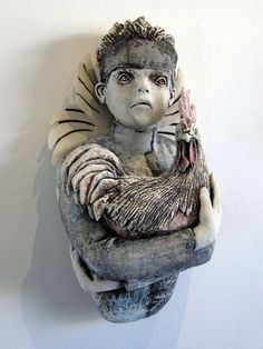 Joe Kowalczyk, ceramic sculpture - ego-alterego.com