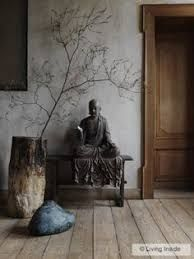 japanese indoor decor - Google Search Wabi Sabi, Feng Shui, Le Style Zen, Deco Zen, Zen Room, Elements Of Nature, Meditation Space, Simple Meditation, Guided Meditation