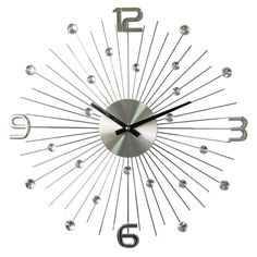 Hans Andersen Home Piccolo Million Dollar Clock (Telechron Piccolo Million Dollar Clock), Black (Crystal)