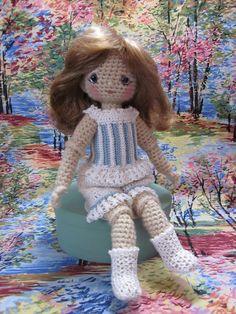 By Hook, By Hand: Basic Crochet Undergarment for Bleuette