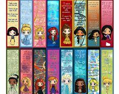 Disney Villains Chibi Bookmarks Maleficent The Evil Queen Moana Disney, Art Disney, Disney Crafts, Hades Disney, Disney Songs, Princess Movies, Disney Princess Quotes, Disney Princess Ariel, Rapunzel Quotes