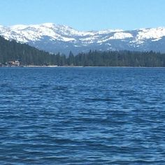A beautiful day at Donner Lake. Truckee, CA @tahoe_time