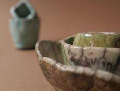 Raku, ceramic bowl, ceramic box, bohème, rustique Serving Bowls, Ceramics, Tableware, Rustic, Ceramica, Pottery, Dinnerware, Tablewares, Ceramic Art