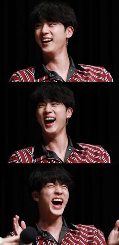 JIN ~♡ - when he laughs all my worries and problems go away