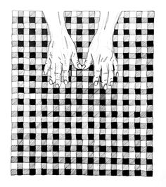 Las manos de un loco.