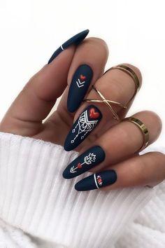 Stylish Nails, Trendy Nails, Fancy Nails, Cute Nails, Gothic Nails, Plaid Nails, Nagellack Design, Nails Only, Geometric Nail