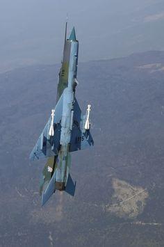 "Croatian Air Force Mikoyan-Gurevich MiG-21bisD ""Fishbed-L"""
