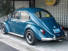FLAT4/CARS FOR SALE (vehicle sales) '71 TYPE-1 Sea Blue Cal-Look