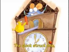 6B 6 Hickory Dickory Dock Hickory Dickory Dock, Nursery Rhymes, Toy Chest, Literacy, The Unit, Songs, Storage, Purse Storage, Preschool
