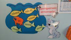 Ερωτηματικες αντωνυμίες Greek Language, Learning, Greek, Studying, Teaching, Onderwijs