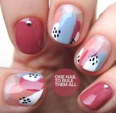 All of these nail designs happen to be as simple as they are awesome. If you're continuously trying to find creative ideas and brand-new designs, nail art designs are a great way to show off your individuality and also to be original. Nagel Hacks, Nail Art Blog, Nail Art Studio, Makeup Studio, Short Nails Art, Short Gel Nails, Minimalist Nails, Dream Nails, Bling Nails