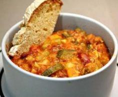 Estufado Vegetariano de Legumes e Feijão