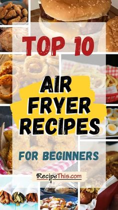 Air Fryer Wings, Air Fryer Chicken Wings, Air Fryer Dinner Recipes, Air Fryer Recipes, Air Fryer Fries, Air Fryer Baked Potato, Everyday Dishes, Frozen Meals, Recipes For Beginners