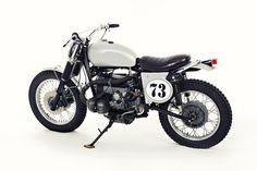 Sacrilege? This classic English-style trials bike has BMW power.