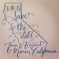 Great blog post about making calligraphy affordable for your wedding