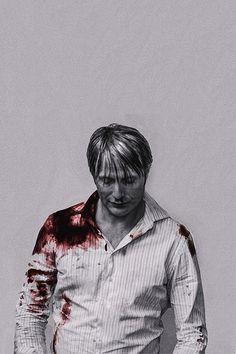 Mads Mikkelsen as Hannibal Lecter by David Slade