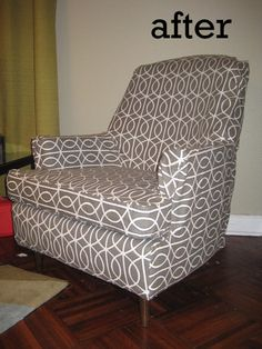 love it!! I've got way too many old, ugly chairs